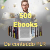 500 Ebooks Com Direitos de Revenda