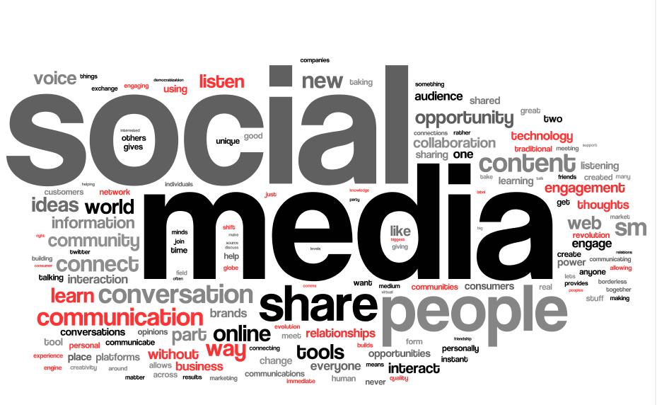 Cargos e salários de um Social Media