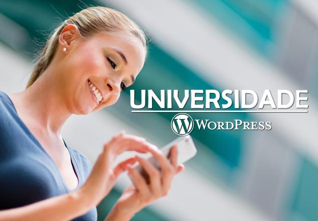 Meu novo projeto: Universidade WordPress