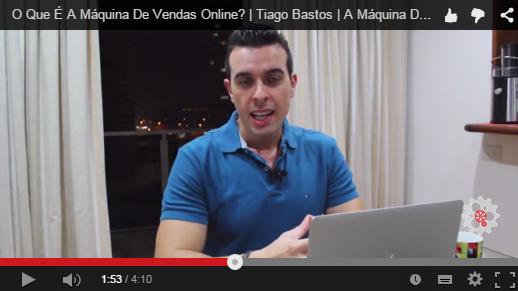 Quem é Tiago Bastos e o Que é a Maquina de Vendas Online
