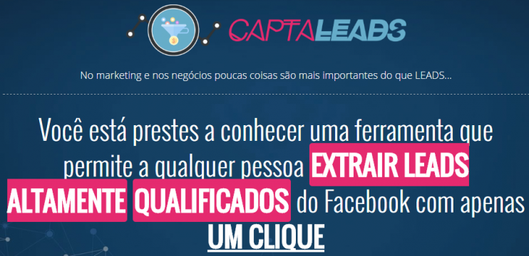 CAPTALEADS – Como Extrair E-mails Segmentados do Facebook