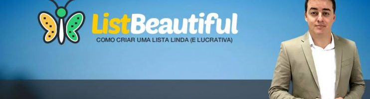 Chegou Terceira Aula do Treinamento LIST BEAUTIFUL