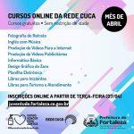 Inscrições Abertas para 12 Cursos Online na Rede Cuca